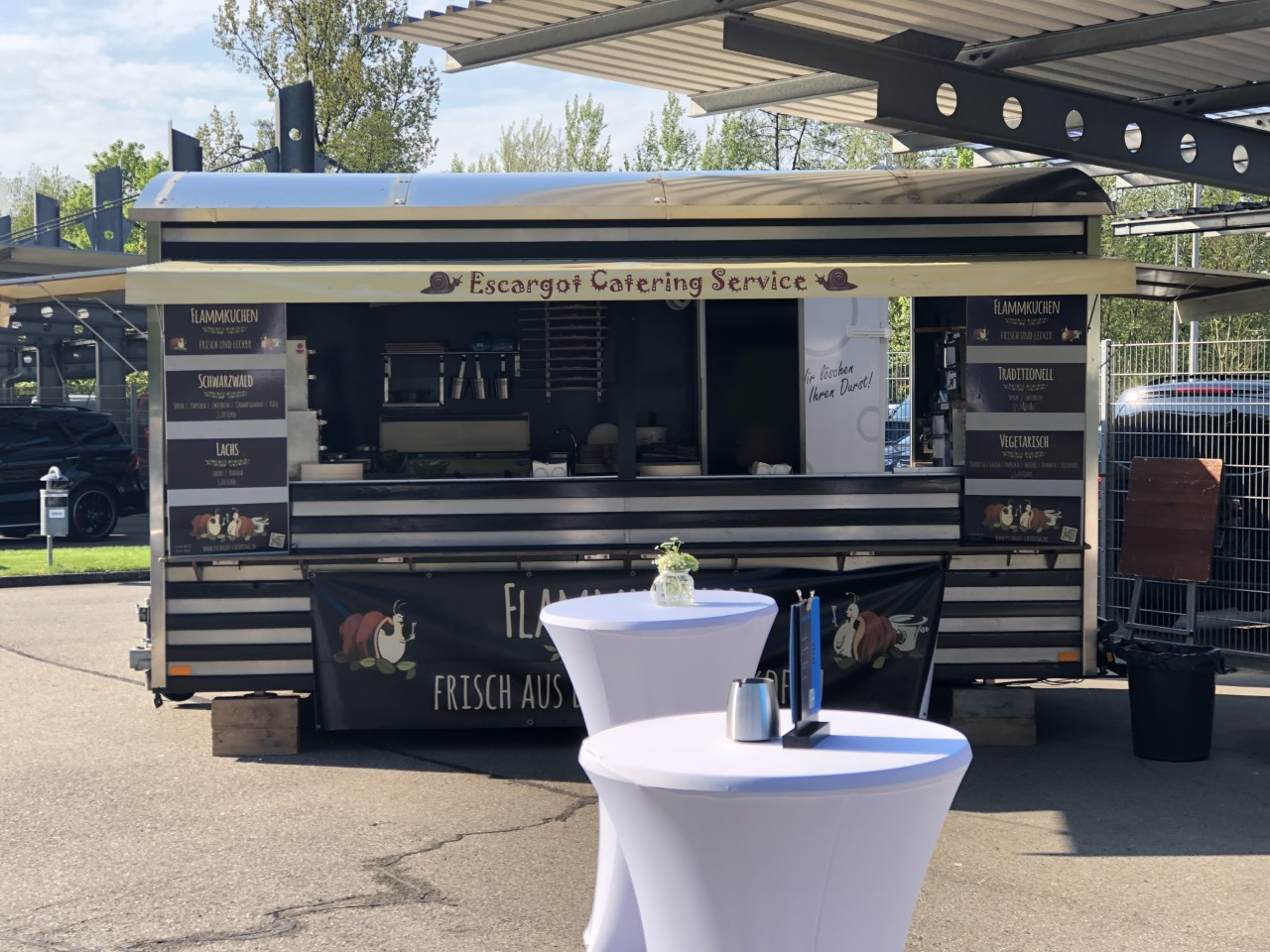 Escargot Catering Foodtruck Firmenevent